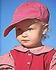 Young girl in pink hat. (c) Rob Kleine. All Rights Reserved.  www.gentleye.com